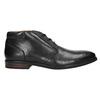 Kožená pánska členková obuv bata, čierna, 824-6913 - 15