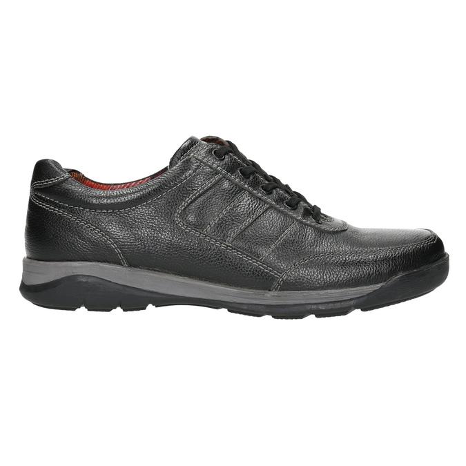 Pánske kožené tenisky bata, čierna, 824-6921 - 15