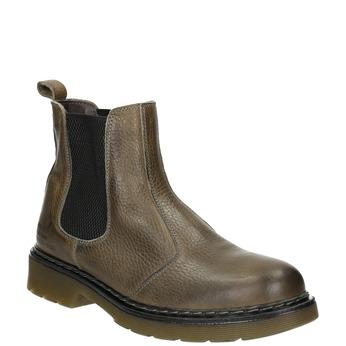 Dámska kožená Chelsea obuv bata, hnedá, 596-7680 - 13