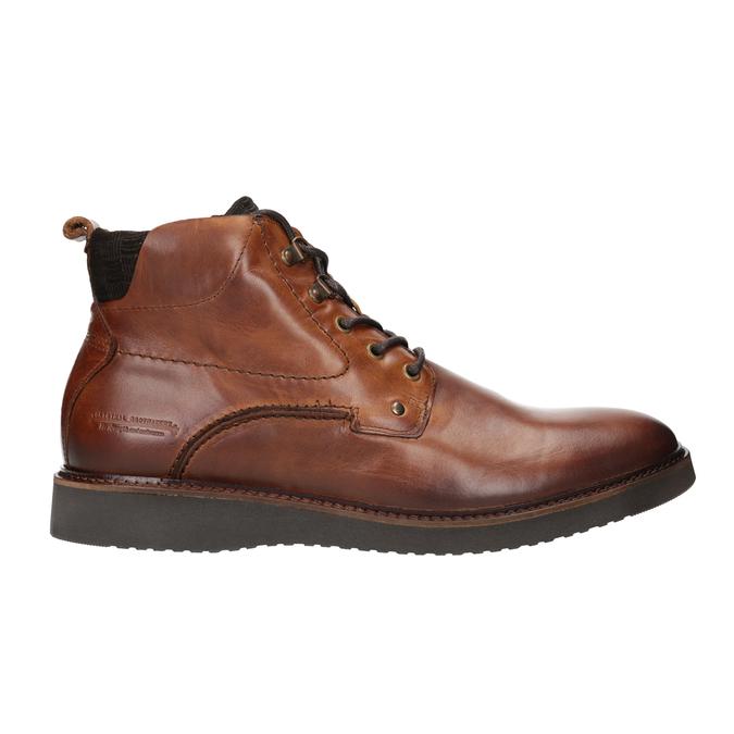 Kožená členková obuv bata, hnedá, 896-3675 - 26