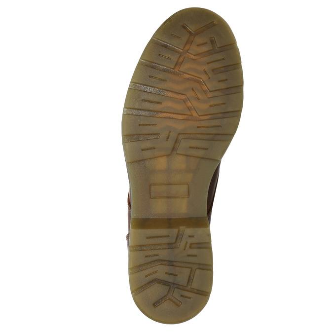 Dámska členková obuv so zipsom bata, hnedá, 596-3681 - 17