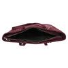 Vínová dámska kabelka bata, červená, 969-9669 - 15
