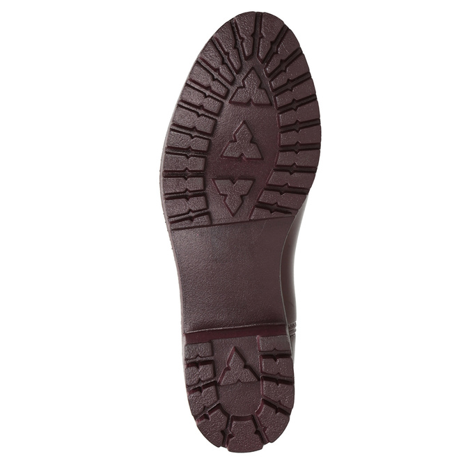 Členkové dámske gumáky bata, červená, 592-5400 - 17