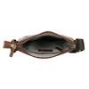 Pánska kožená Crossbody taška bata, hnedá, 964-4140 - 15