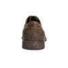 Kožené pánske poltopánky s prešitím bata, hnedá, 826-4610 - 17