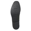 Dámske kožené Chelsea s cvokmi bata, čierna, 596-6679 - 19