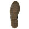 Kožená dámska členková obuv bata, čierna, 594-6681 - 17