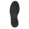 Členková kožená obuv bata, šedá, 896-2663 - 19
