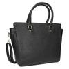 Čierna dámska kabelka s popruhom bata, čierna, 961-6822 - 13