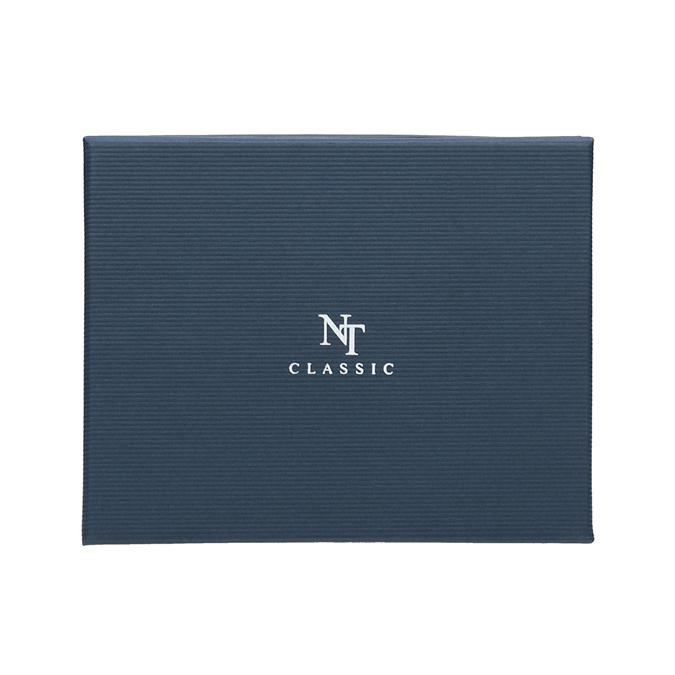 Sada kravaty a vreckovky so vzorom n-ties, červená, 999-5292 - 16