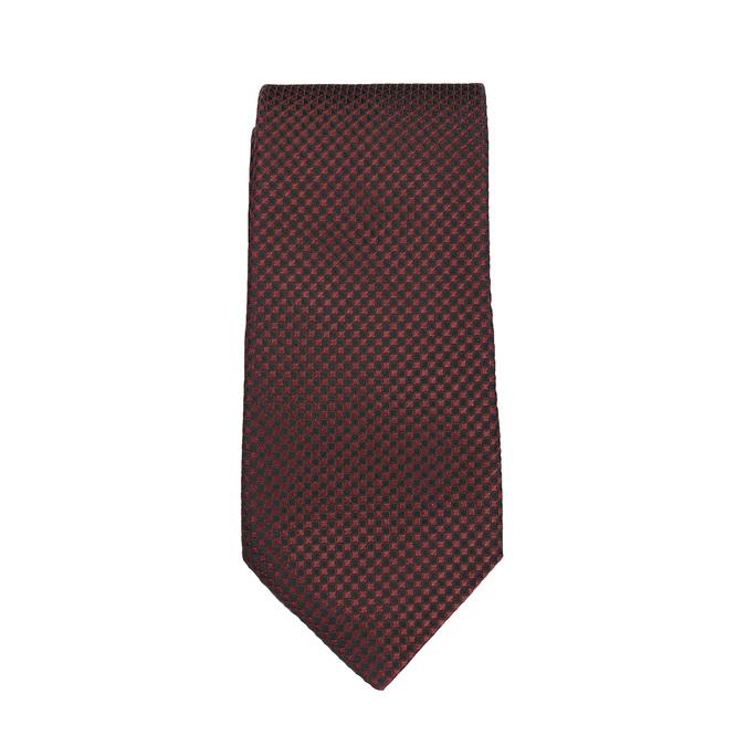 Sada kravaty, vreckovky a manžetových gombíkov n-ties, červená, 999-5293 - 26