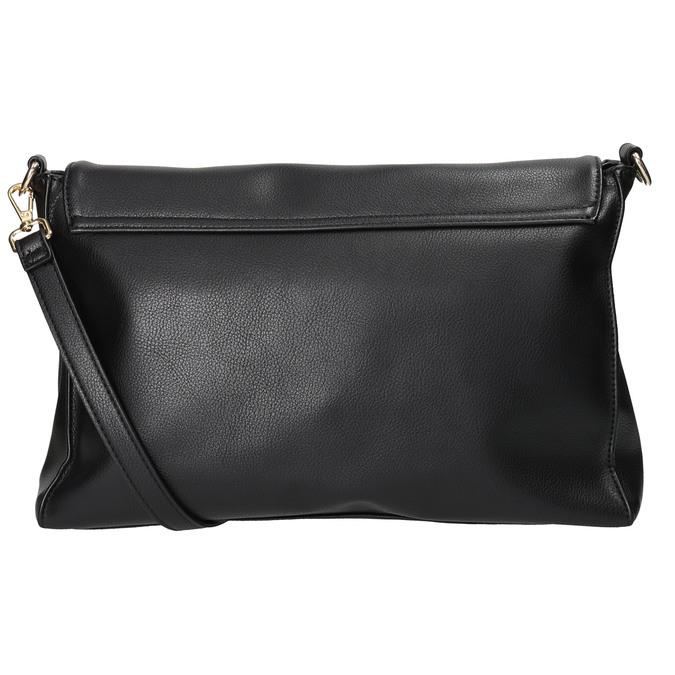Dámska listová kabelka s retiazkou bata, čierna, 961-6164 - 16