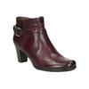Členková obuv šírky H bata, červená, 696-5625 - 13
