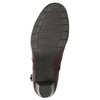 Členková obuv šírky H bata, červená, 696-5625 - 19