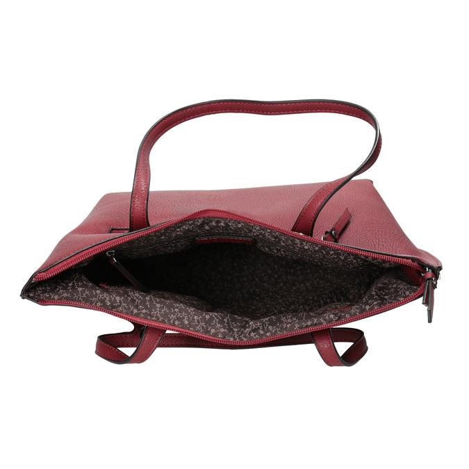 Dámska červená kabelka gabor-bags, červená, 961-5059 - 15