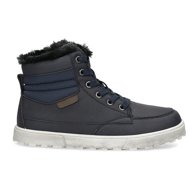 Detská obuv so zateplením mini-b, modrá, 491-9652 - 19