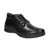 Pánska zimná obuv comfit, čierna, 894-6686 - 13