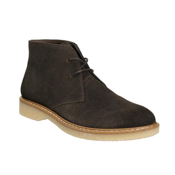 Dámske kožené Desert Boots bata, hnedá, 593-4608 - 13