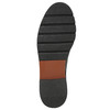 Kožené poltopánky na výraznej podrážke bata, čierna, 526-6642 - 19