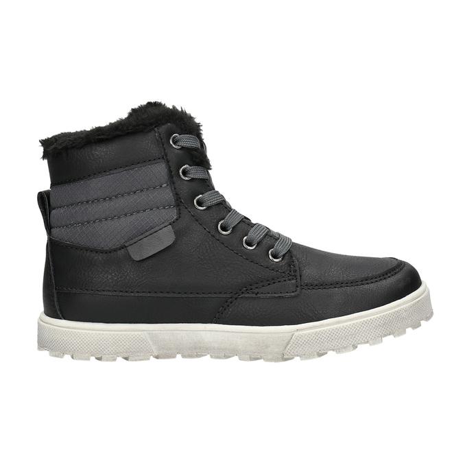 Zimná detská obuv mini-b, čierna, 491-6652 - 15
