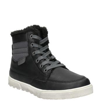 Zimná detská obuv mini-b, čierna, 491-6652 - 13