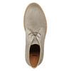 Dámske kožené Desert Boots bata, šedá, 593-2608 - 26