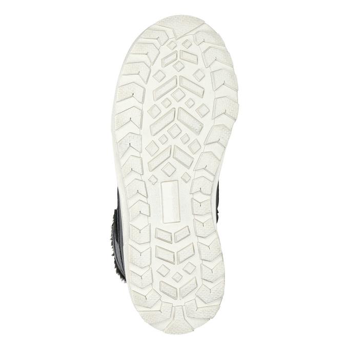 Zimná detská obuv mini-b, čierna, 491-6652 - 19
