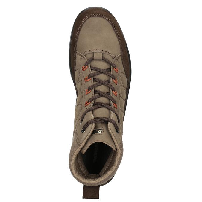 Kožená pánska obuv weinbrenner, hnedá, 846-4647 - 15