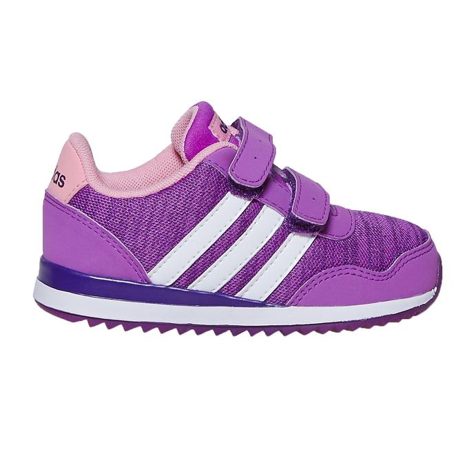 Detské fialové tenisky adidas, fialová, 109-5157 - 15