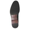 Pánska kožená Chelsea obuv vagabond, čierna, 814-6024 - 17