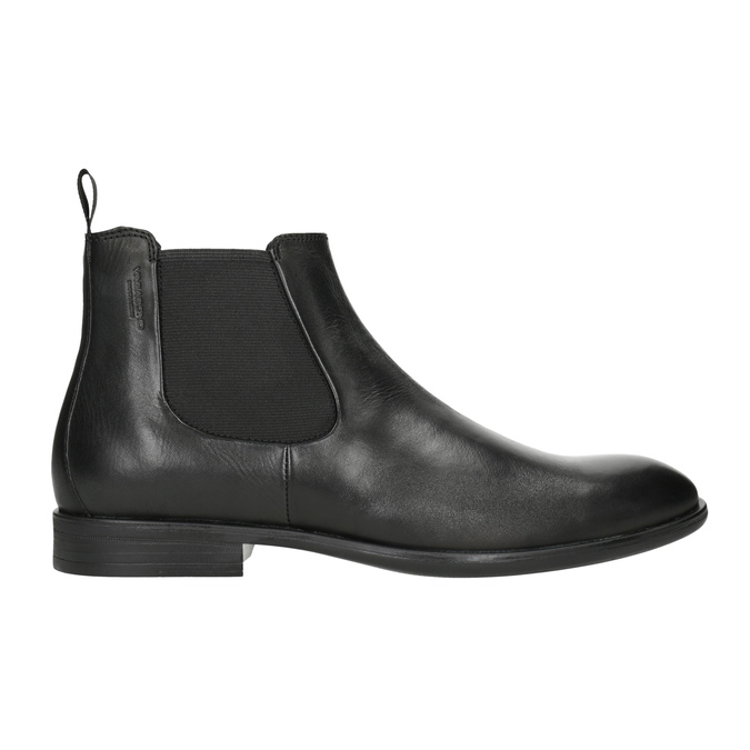 Pánska kožená Chelsea obuv vagabond, čierna, 814-6024 - 26