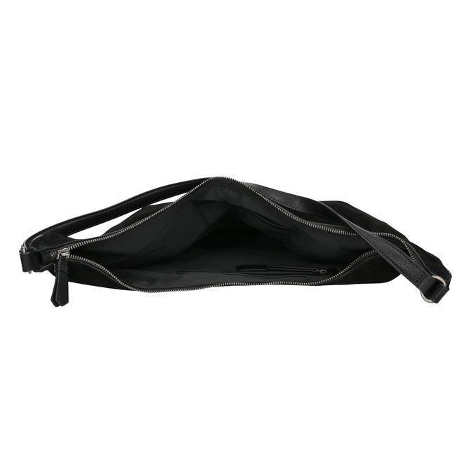 Kožená dámska kabelka bata, čierna, 964-6275 - 15