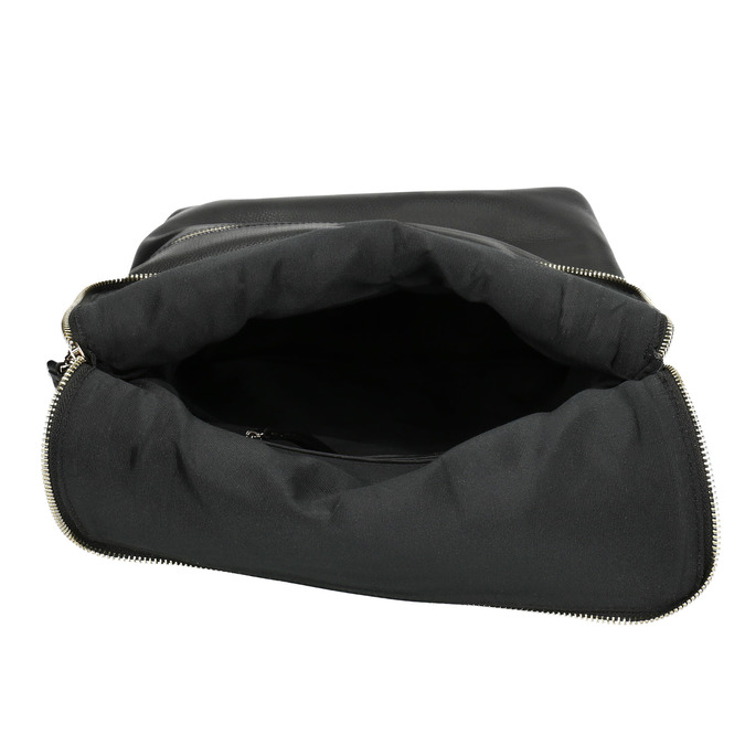 Kožený batoh bata, čierna, 964-6279 - 15