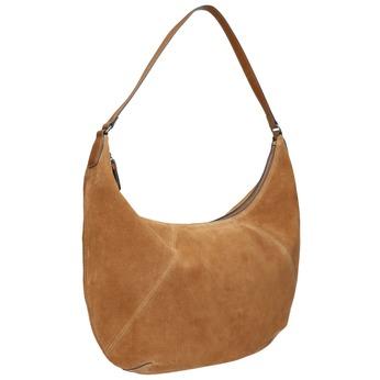 Hnedá kožená kabelka bata, hnedá, 964-4275 - 13