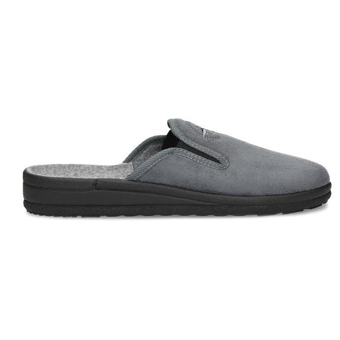 Pánska domáca obuv bata, šedá, 879-2610 - 19