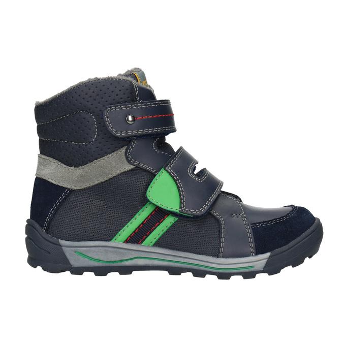 Členková detská zimná obuv mini-b, modrá, 291-9627 - 26