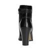 Dámske kožené členkové čižmy bata, čierna, 794-6650 - 17
