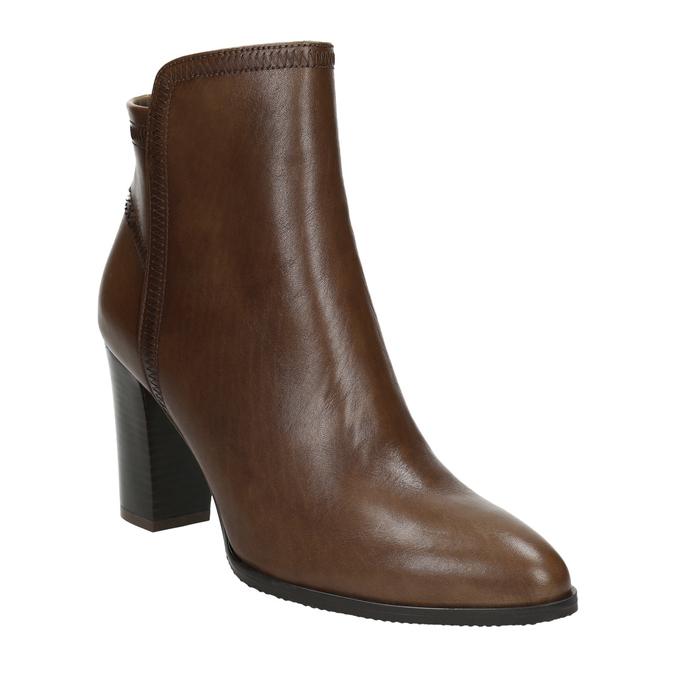 Kožená členková obuv bata, hnedá, 794-4650 - 13