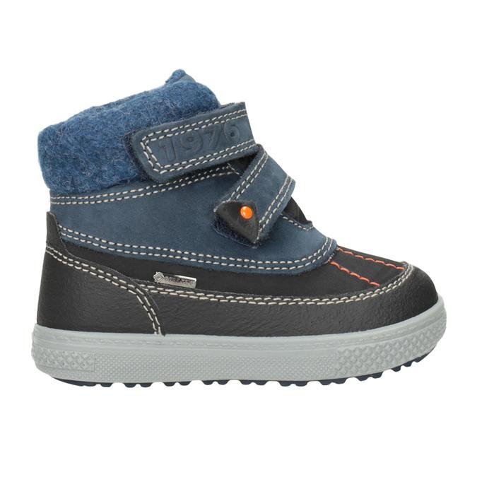 Detská zimná obuv z kože primigi, modrá, 196-9006 - 26