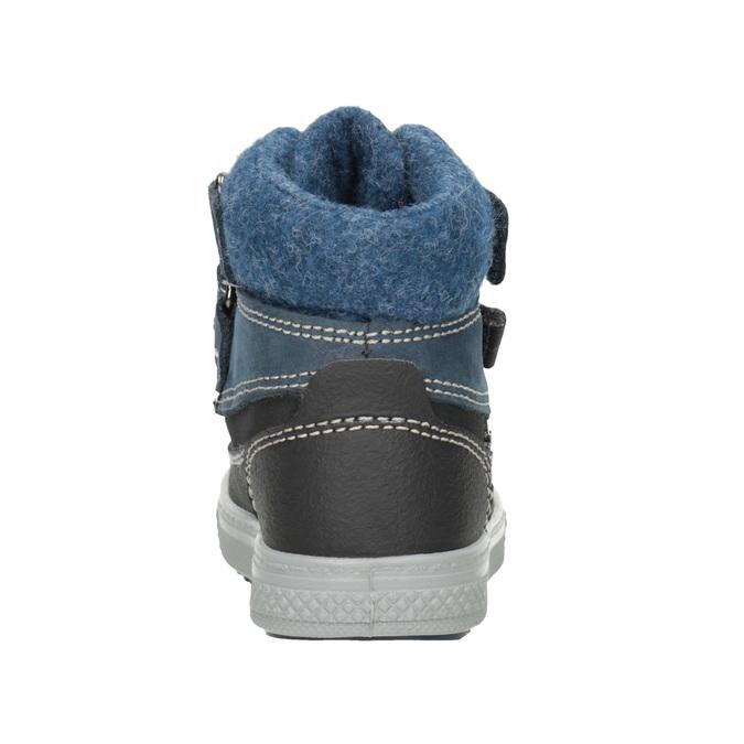 Detská zimná obuv z kože primigi, modrá, 196-9006 - 16