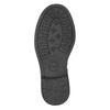 Dievčenské čižmy s kamienkami mini-b, čierna, 291-6395 - 17