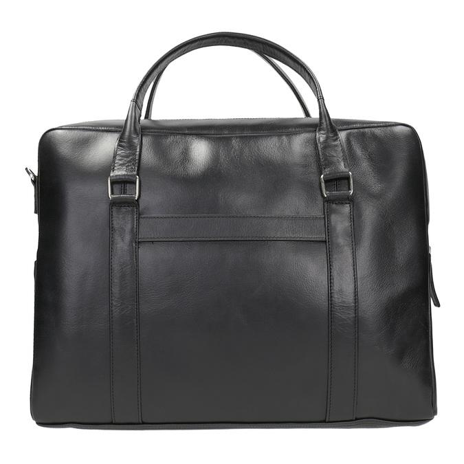 Čierna kožená taška royal-republiq, čierna, 964-6051 - 26