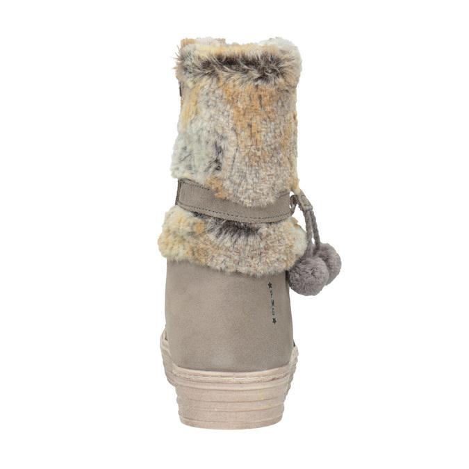 Detské zimné topánky s kožúškom primigi, béžová, 393-8015 - 16