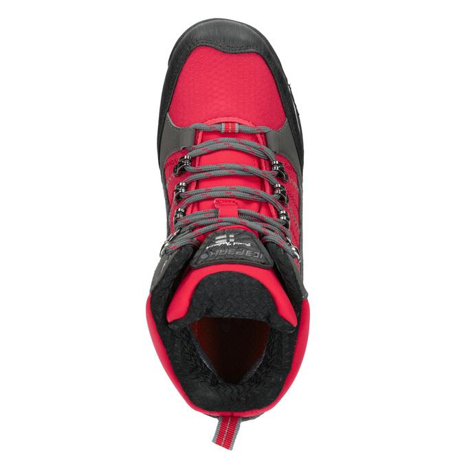 Detská zimná obuv v Outdoor štýle icepeak, červená, 399-5016 - 15