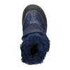 Dievčenská zimná obuv na suchý zips mini-b, modrá, 299-9613 - 26
