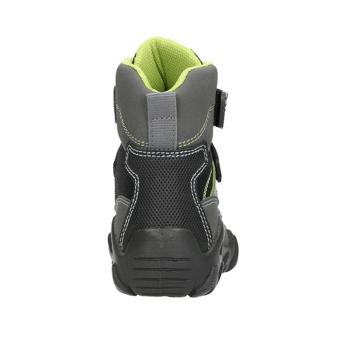 Detská obuv na suchý zips mini-b, šedá, 299-2616 - 17