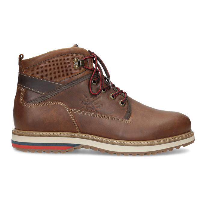 Členková pánska zimná obuv bata, hnedá, 896-3677 - 19