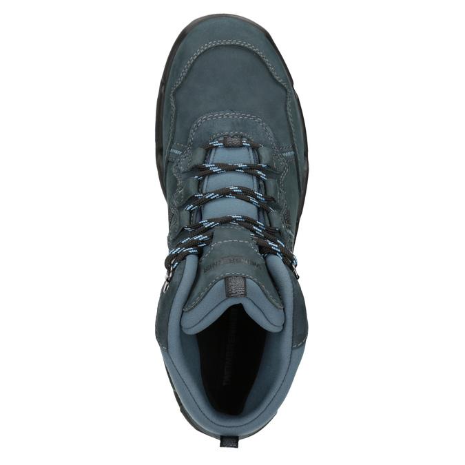 Kožená obuv v Outdoor štýle weinbrenner, modrá, 896-9671 - 15