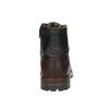 Pánska členková obuv bata, čierna, 896-6665 - 17