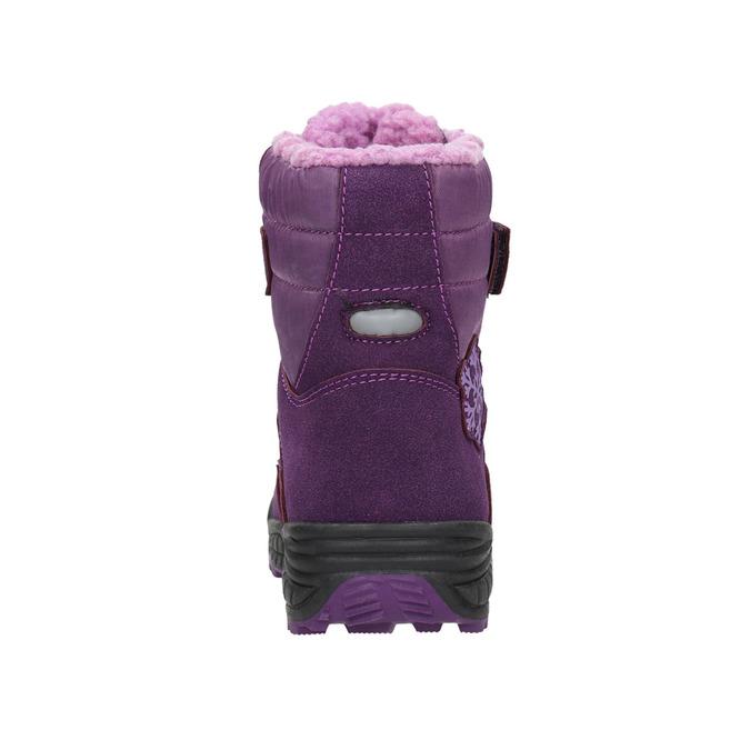 Dievčenské fialové snehule mini-b, fialová, 291-9625 - 17